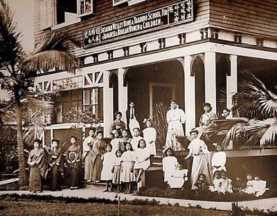 Susannah Wesley Community Center in 1919